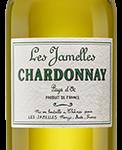 """Vin blanc – Chardonnay """"Les Jamelles"""" – Pays d'Oc IGP (75 cl)"""