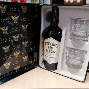 Coffret Whisky Teeling 75 cl + 2 verres