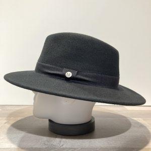 Chapeau feutre laine noir