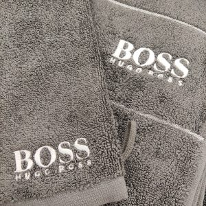 Serviette de bain logo Boss