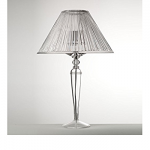 Mario Guisti Lampe synthetic crystal