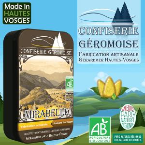 Bonbons des Vosges à la mirabelle