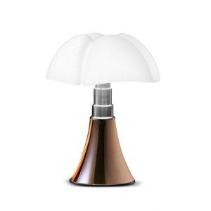 Pipistrello : Lampe mini Pipistrello cuivre designé par Martinelli Luce